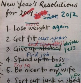 What's Your New Year's Resolution(s)?